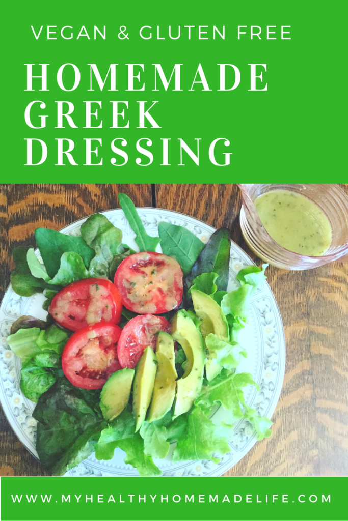 Homemade Greek Dressing - My Healthy Homemade Life