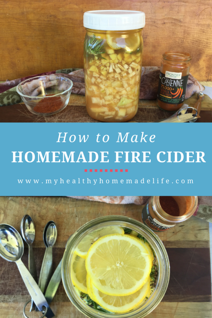 An immune boosting DIY home remedy that has been passed down for generations. How to Make Homemade Fire Cider. Natural Medicine