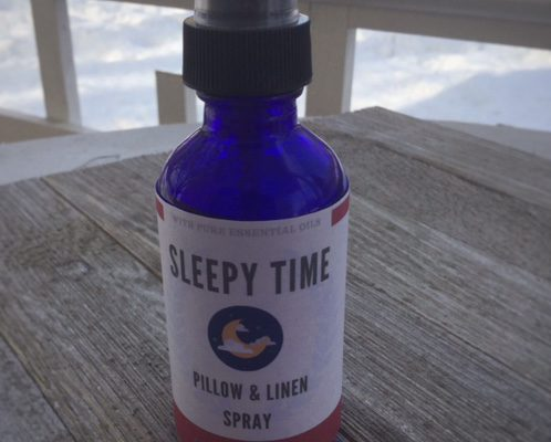 DIY Sleepy Time Pillow & Linen Spray | Homemade Sleep Spray | Essential Oil Recipes | My Healthy Homemade Life