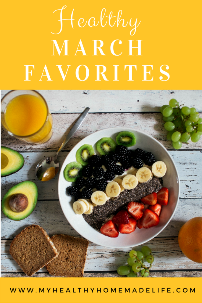Healthy March Favorites | Gluten Free | Vegan | Healthy Food | Herbal Tea | Raw Food | My Healthy Homemade Life