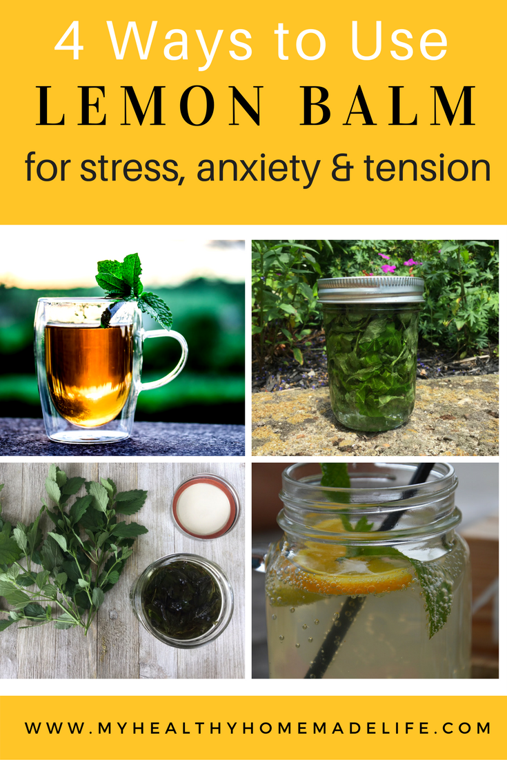 Chinese herbs tea stress anxiety - How To Use Lemon Balm For Stress Tension And Anxiety Herbal Remedies Home