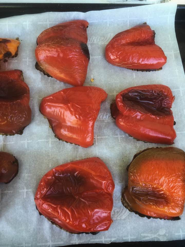 How to Make Roasted Red Peppers | Freezing | Preserving | DIY | Healthy Recipes | Roasted Red Pepper Recipe | My Healthy Homemade Life